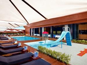 Leonardo Aqua Park - sun loungers