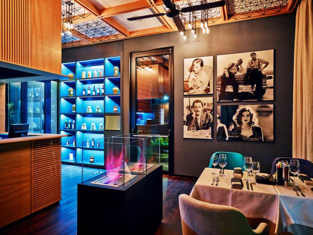 Ресторант Леонардо в Банско - интериор