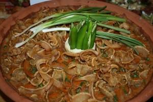 Сварен фасул със свинско | restaurant Leonardo Bansko