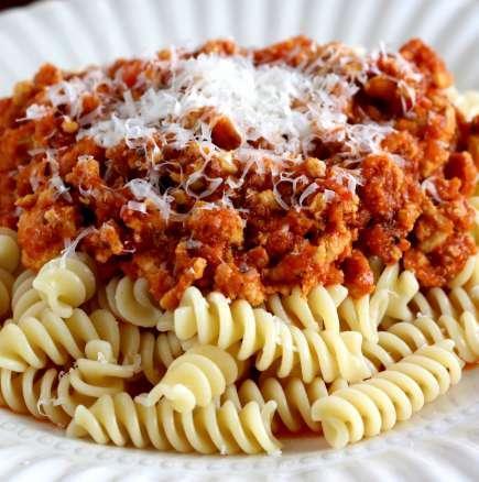 Pasta bolognese - penne, fussily или spaghetti | Leonardo Bansko
