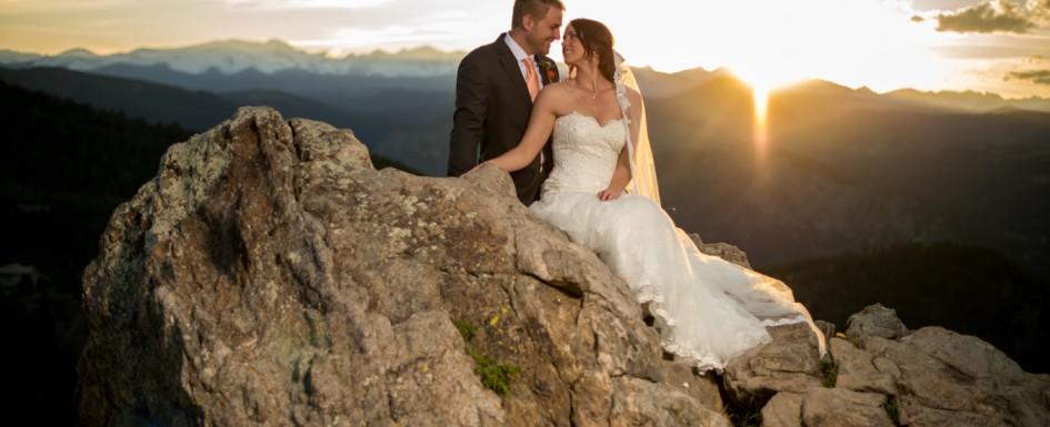 Романтична сватба в планината, залез | Leonardo Bansko