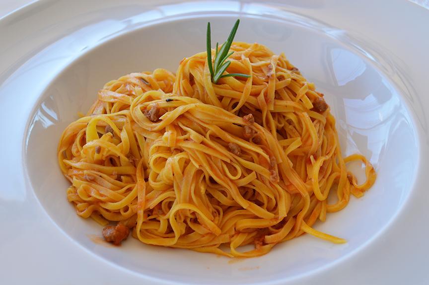 Italian tajarin from Piedmont