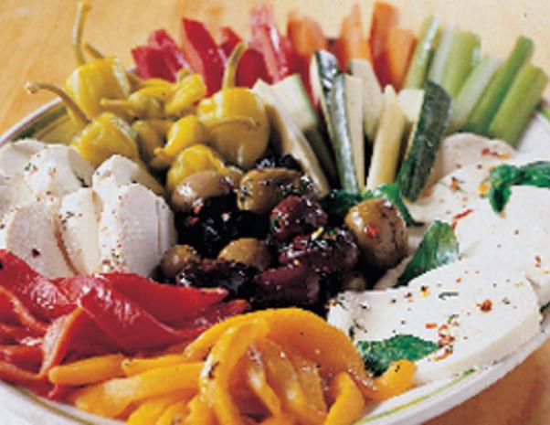 Ордьоврите в италианската кухня
