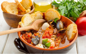 5 top offers for Italian dishes with fish products