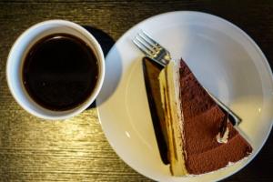 Бишкоти с кафе, какао и орехи